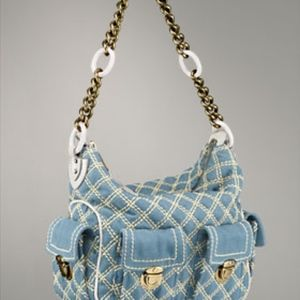 Marc Jacobs Quilted Denim Purse